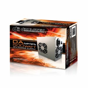 Diablotek DA Series PSDA500 Desktop PC Power Supply (500W / ATX)
