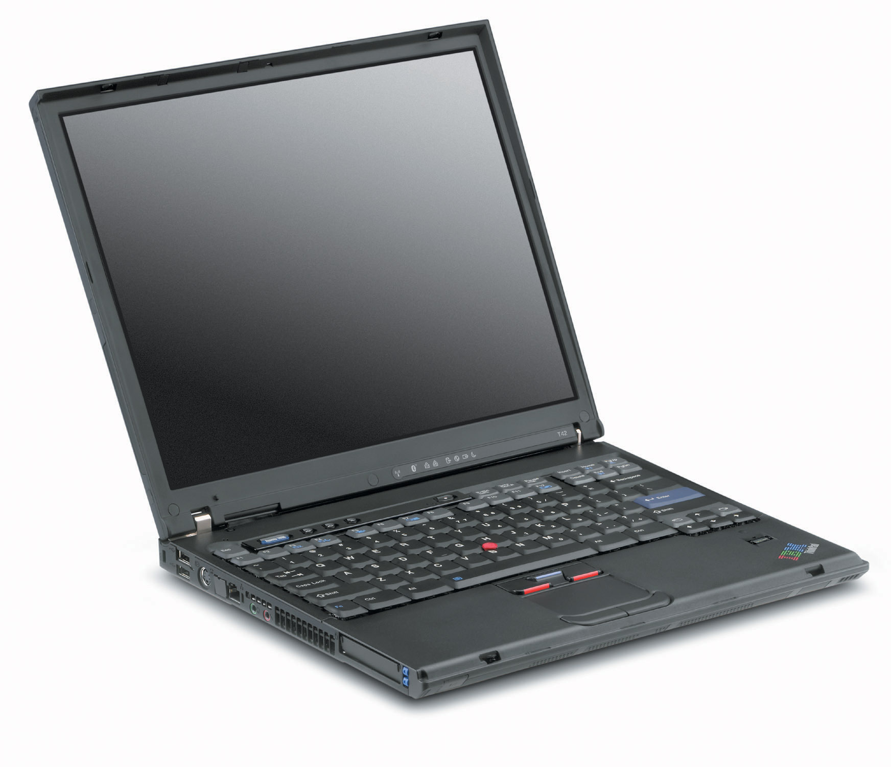 IBM ThinkPad T42 (15″ / Intel Centrino 1.6GHz / 40GB HDD / 1GB RAM) – The PC Room