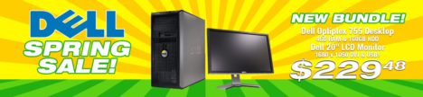 Dell Summer Sale Dell Desktop Bundle! - The PC Room