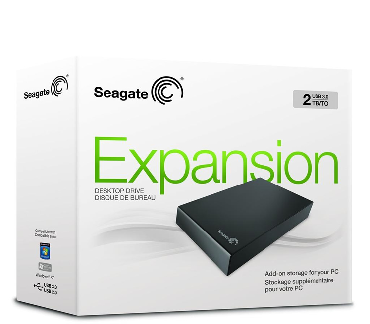 Seagate Expansion External Desktop Drive 2tb Usb 3 0