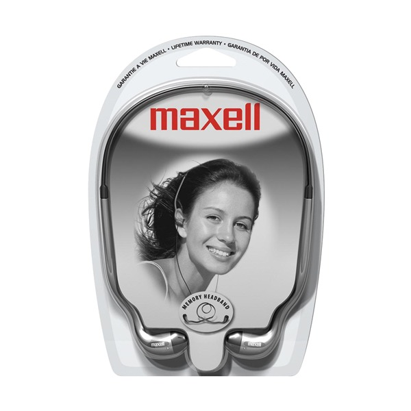 Maxell Hb 202 3 5mm Earbud Stereo Headphones Silver
