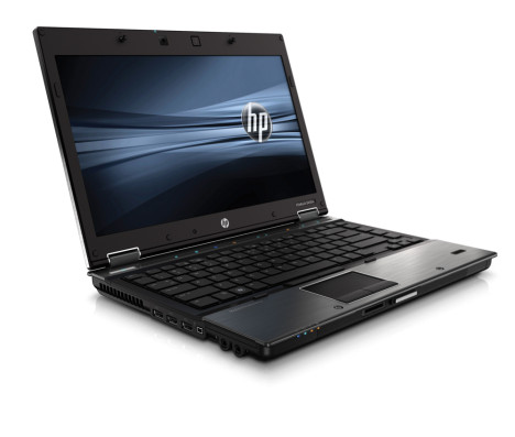 "Sideview of HP EliteBook 8440p 14.1"" (Core i5 / 160GB HDD / 4GB RAM / Webcam) – buy used HP EliteBooks in Canada"