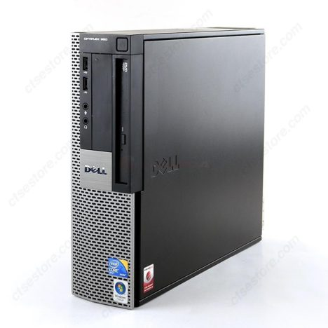 Feature image of Dell Optiplex 960 SFF (Core 2 Duo 3.16GHz / 250GB HDD / 4GB RAM) - buy used Dell desktop computers in Canada