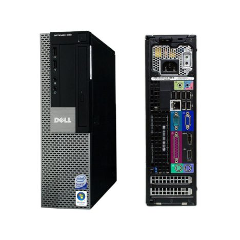 Inside look at a Dell Optiplex 960 SFF (Core 2 Duo 3.16GHz / 250GB HDD / 4GB RAM) - buy used Dell desktop computers in Canada