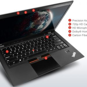 LENOVO X1 CARBON 3460 (i5-3367U 1.8GHZ, 8GB DDR3, 128 SSD)