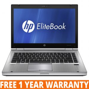 HP EliteBook 8470p / Intel Core i5 2.6GHz 3rd GEN / 8GB RAM / 128GB SSD / WIN 10