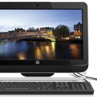 HP All in One PC 3420   Intel Core i3 3.3GHz  4GB   320GB SATA  WIN 10