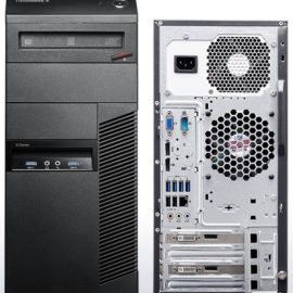 Lenovo M93p Front and Back