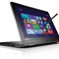 Lenovo Yoga Touchscreen Convertible, Core i7 5th Gen, 8GB RAM, 128GB SSD, Windows 10